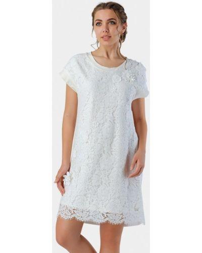 Белое вечернее платье летнее O&j