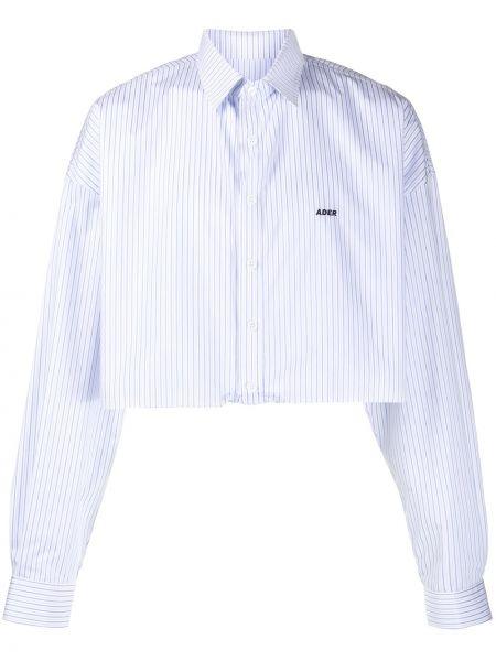 Biała koszula z haftem - biała Ader Error