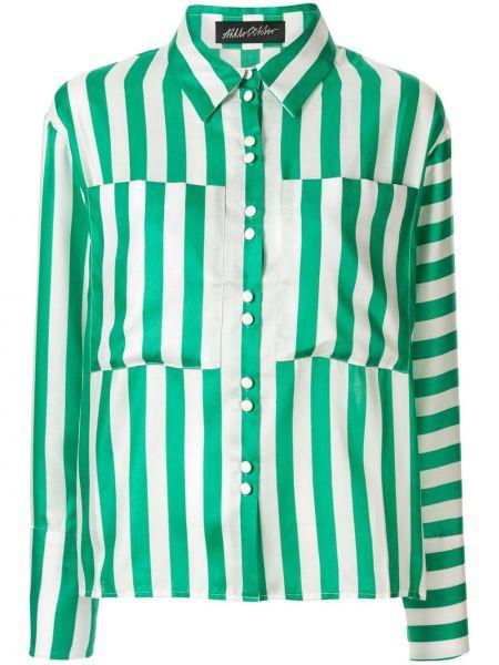 Рубашка с длинным рукавом - белая Anna October