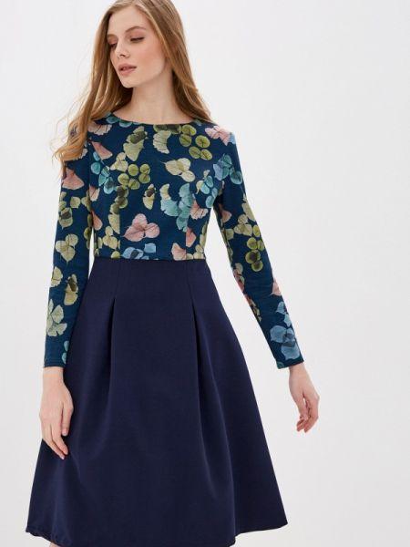 Синее платье Am One