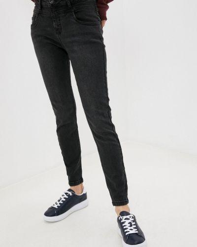 Черные джинсы-скинни узкого кроя Sublevel