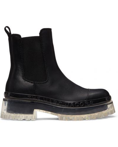 Кожаные ботинки челси - черные Marc Jacobs