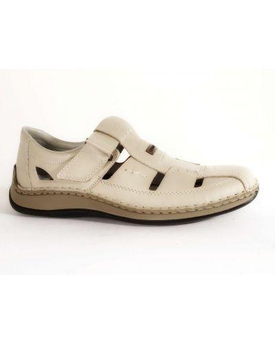 Бежевые сандалии Rieker