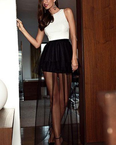 Платье с подкладкой с люрексом Love Republic