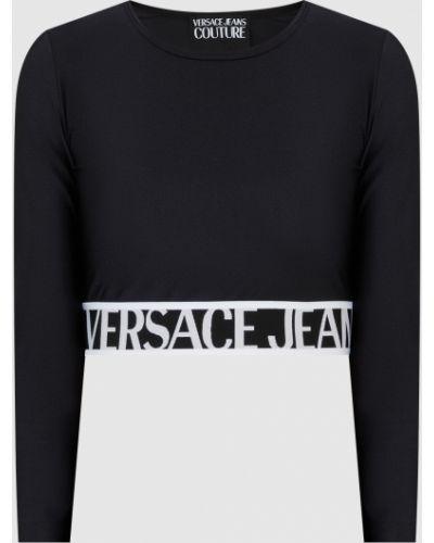 Спортивный топ - черный Versace Jeans Couture
