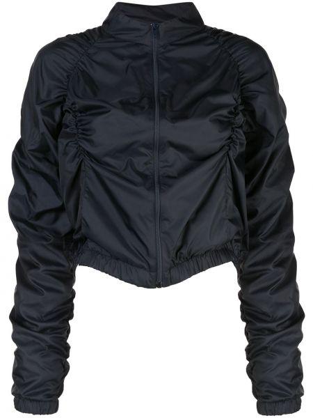 Синяя короткая куртка с манжетами Fantabody
