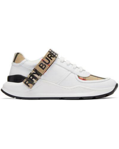 Sneakersy, biały Burberry