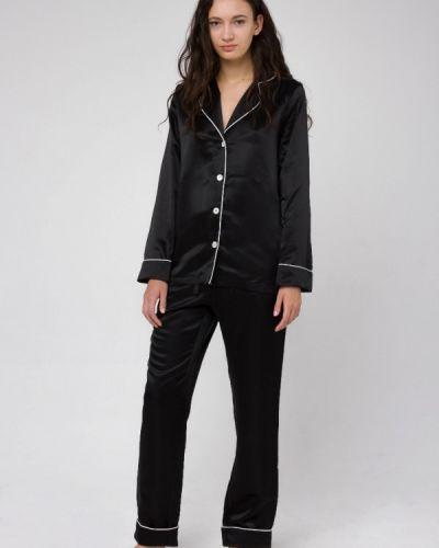 Пижама черная пижамный Serenity