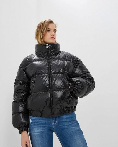 Зимняя куртка осенняя черная Chiara Ferragni Collection