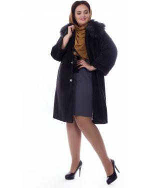 Пальто на кнопках шерстяное Wisell