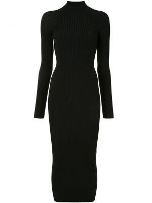 Платье макси с длинными рукавами - черное Dion Lee