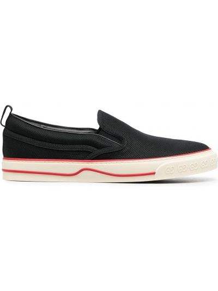 Buty do tenisa - czarne Gucci