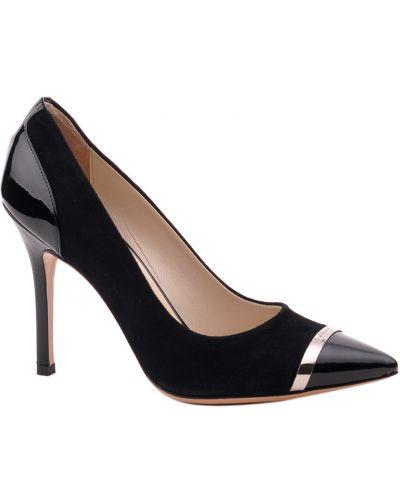 Кожаные туфли - черные Baldinini