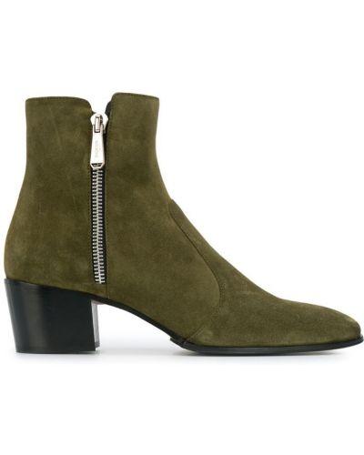 Ботильоны на молнии для обуви Pierre Balmain