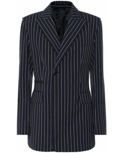 Пиджак с заплатками в полоску Acne Studios