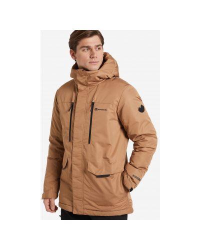 Кожаная куртка с капюшоном Outventure