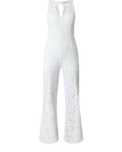 Biały kombinezon koronkowy bawełniany Guess