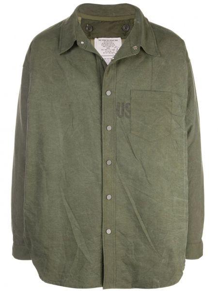 Klasyczny koszula wojskowy z kołnierzem Readymade
