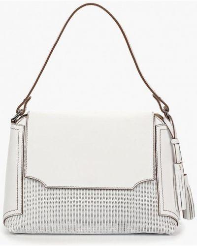 Кожаная сумка - белая Gianni Conti