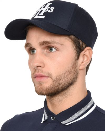 Синяя бейсболка Henri Lloyd