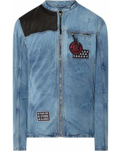 Kurtka jeansowa - niebieska Be Edgy