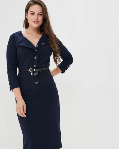 Платье синее Bezko