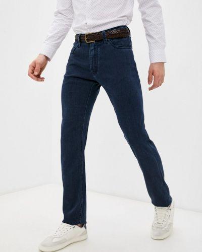 Синие зимние джинсы Cortigiani