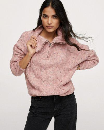 Розовый турецкий свитер Mango