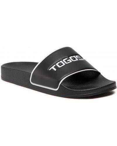 Czarne sandały na lato Togoshi
