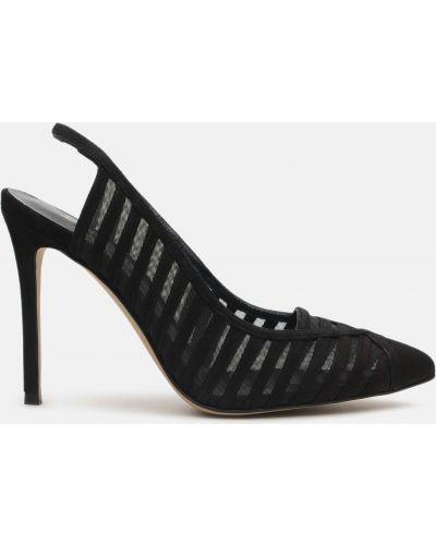 Черные туфли свободного кроя Fjolla