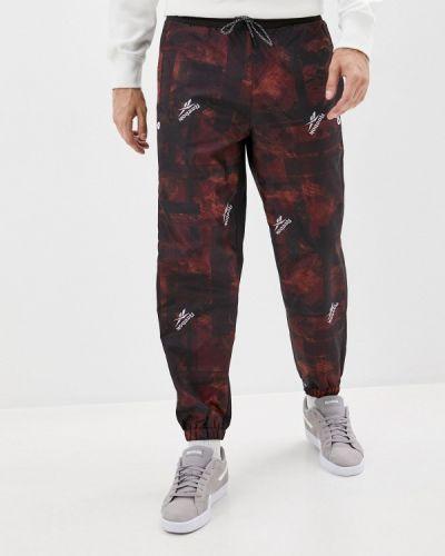 Красные спортивные брюки Reebok