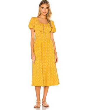 Платье шелковое эластичное Tularosa