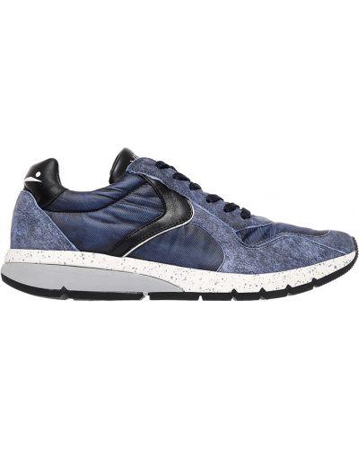 Синие кроссовки Voile Blanche