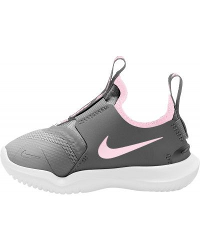 Серые кожаные кроссовки беговые для бега Nike