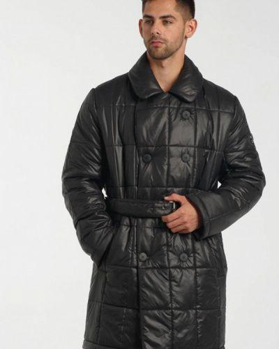 Черная утепленная короткая куртка Doctor E