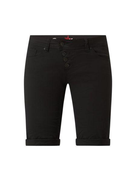 Czarne szorty jeansowe bawełniane Buena Vista