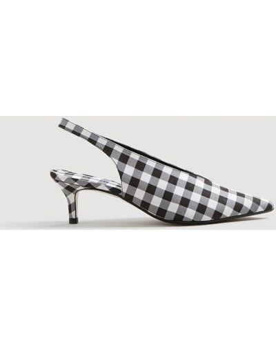 Туфли на высоком каблуке с острым носком Mango