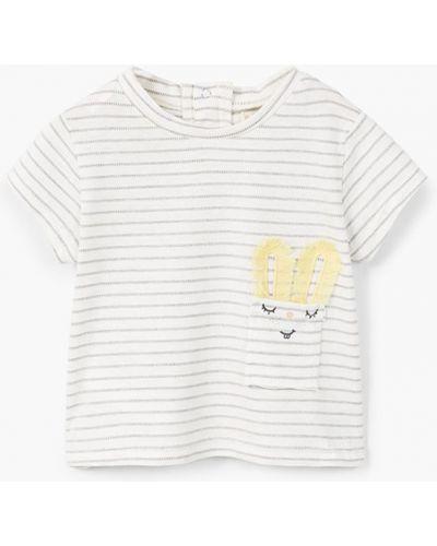 Белая футболка Mango Kids