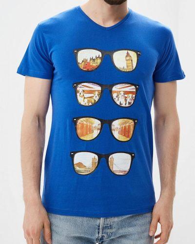 Синяя футболка Paragoose