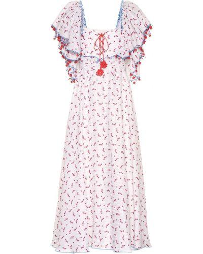 Льняное платье макси на торжество Gül Hürgel