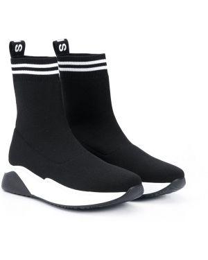 Носки белые черные Balmain Kids