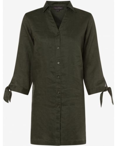 Zielona lniana bluzka Franco Callegari
