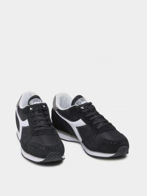 Кроссовки - черные Diadora