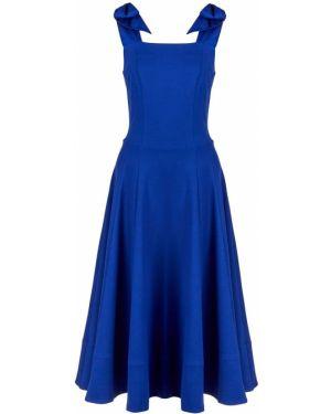 Платье платье-сарафан синее Olga Skazkina