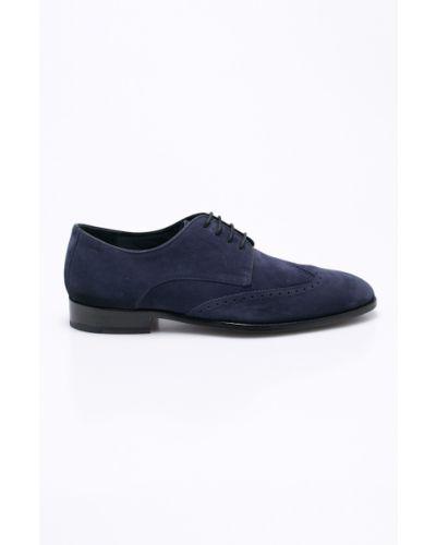 Кожаные туфли на шнуровке Joop!