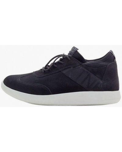 Кроссовки из нубука - черные Tomfrie