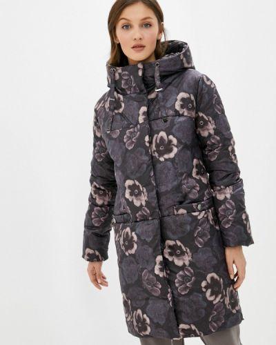Коричневая утепленная куртка Dizzyway