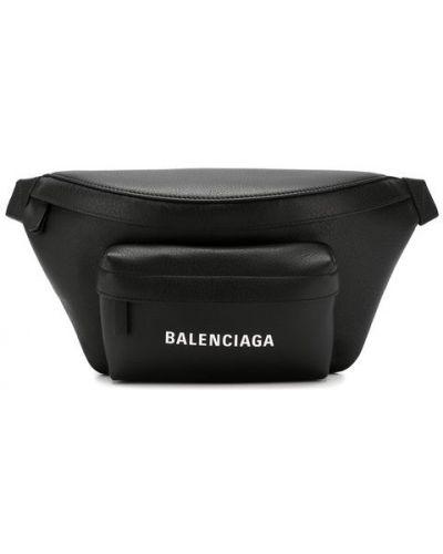 Поясная сумка кожаная повседневная Balenciaga