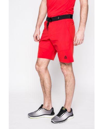 Спортивные шорты прямые с поясом Reebok