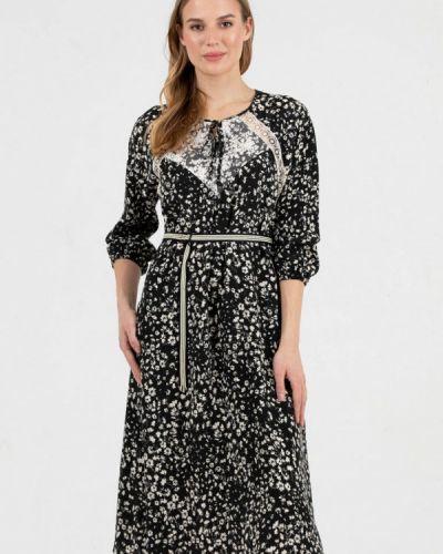 Повседневное черное платье Key
